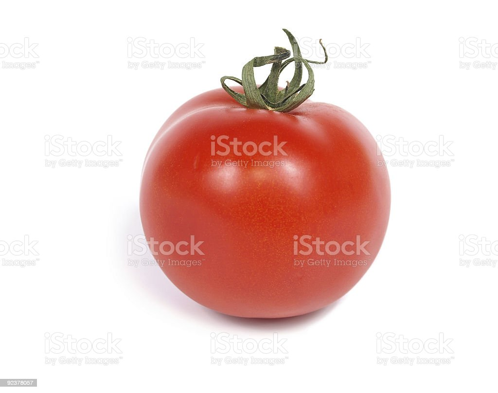 Fresh tomato royalty-free stock photo
