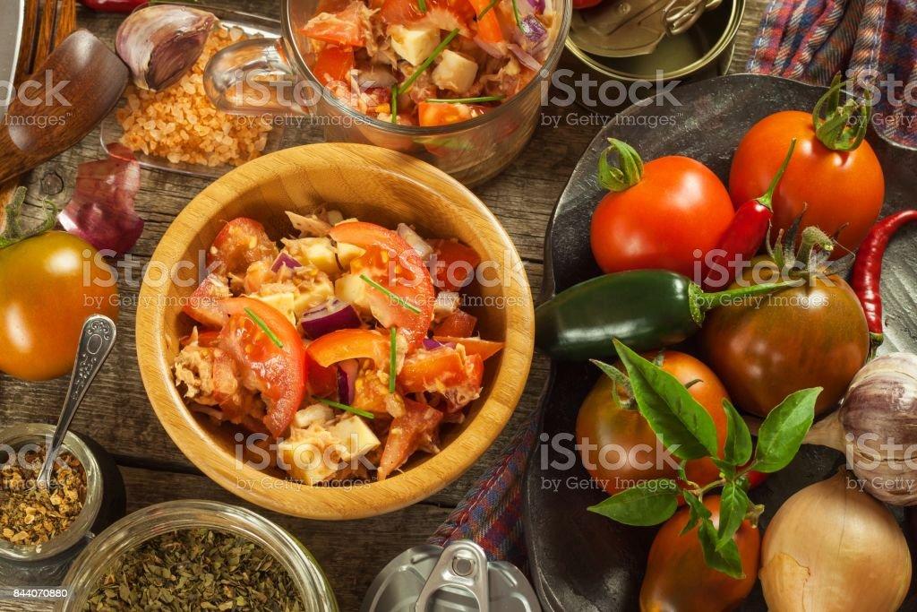 Dieta del tomate y atun