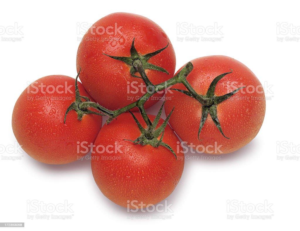 Tomatos frescas foto de stock libre de derechos