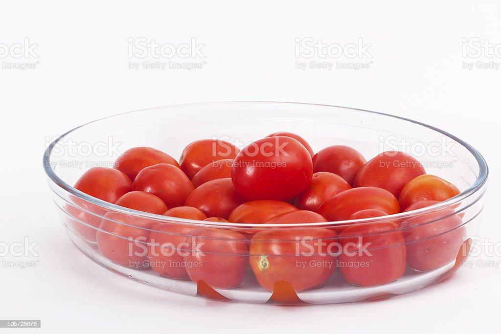 Fresh tomatos stock photo