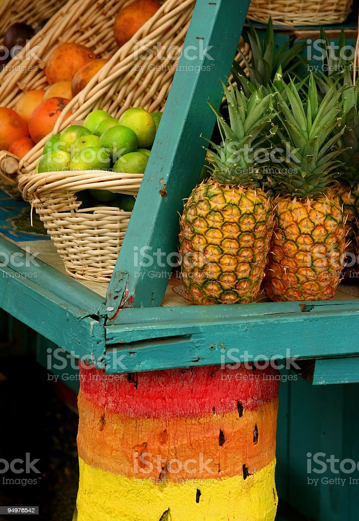 Fresh Tropical Fruit royalty-free stock photo