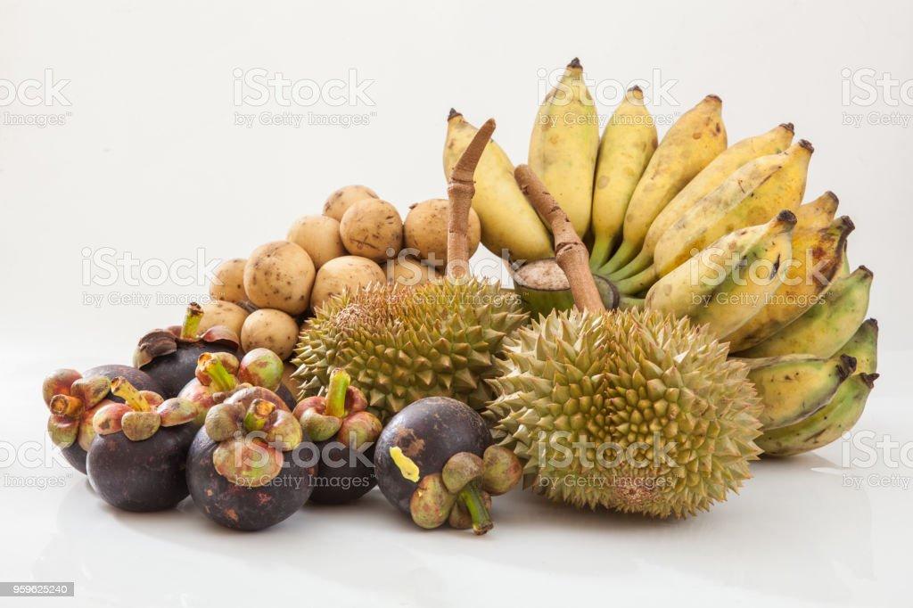Frutas tropicales frescas - Foto de stock de Agricultura libre de derechos