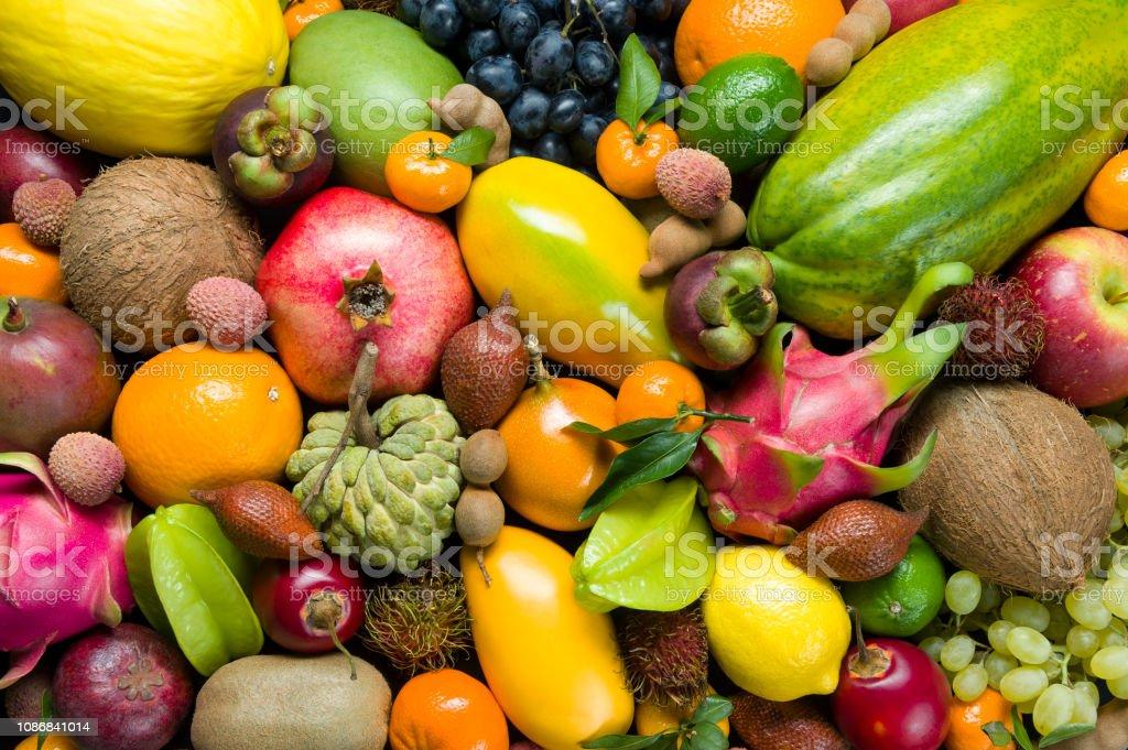 Frische tropische Früchte – Foto