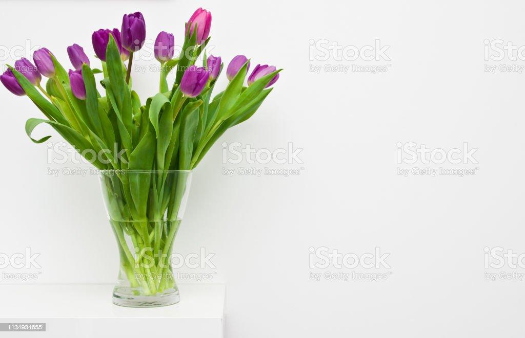 Photo Libre De Droit De Tulipes Fraiches Sur Une Decoration