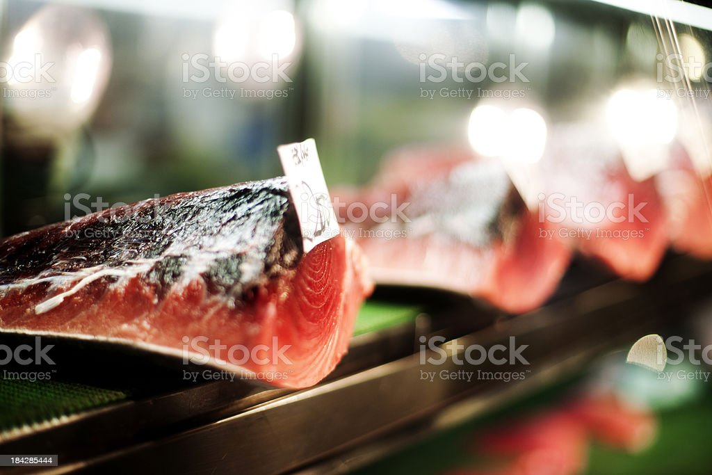 Fresh tuna royalty-free stock photo