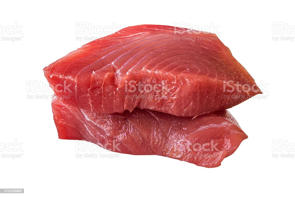 Fresca de filete de atún - foto de stock