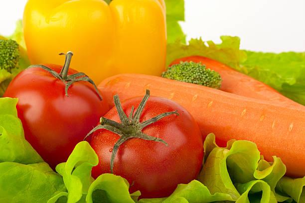 Frisches Gemüse-mix – Foto