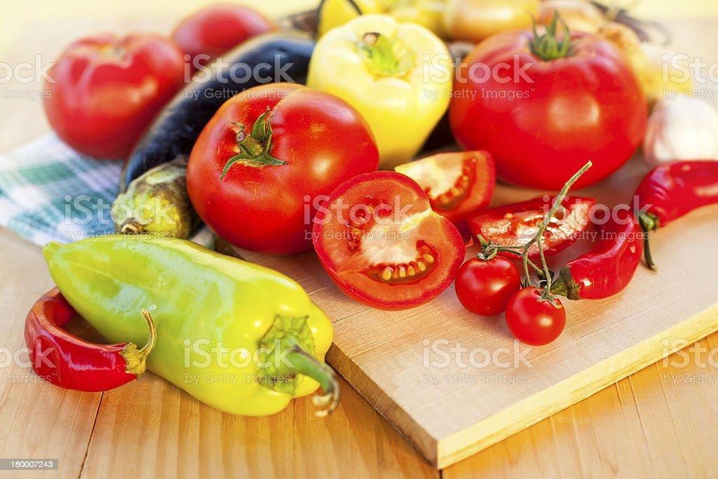 신선한 채소 royalty-free 스톡 사진