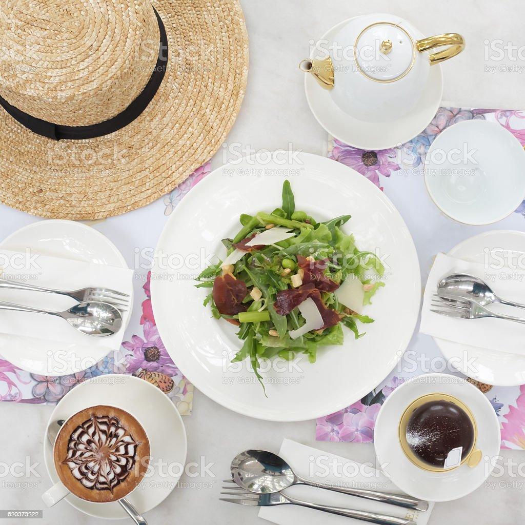 Świeże Warzywo Sałatka  zbiór zdjęć royalty-free
