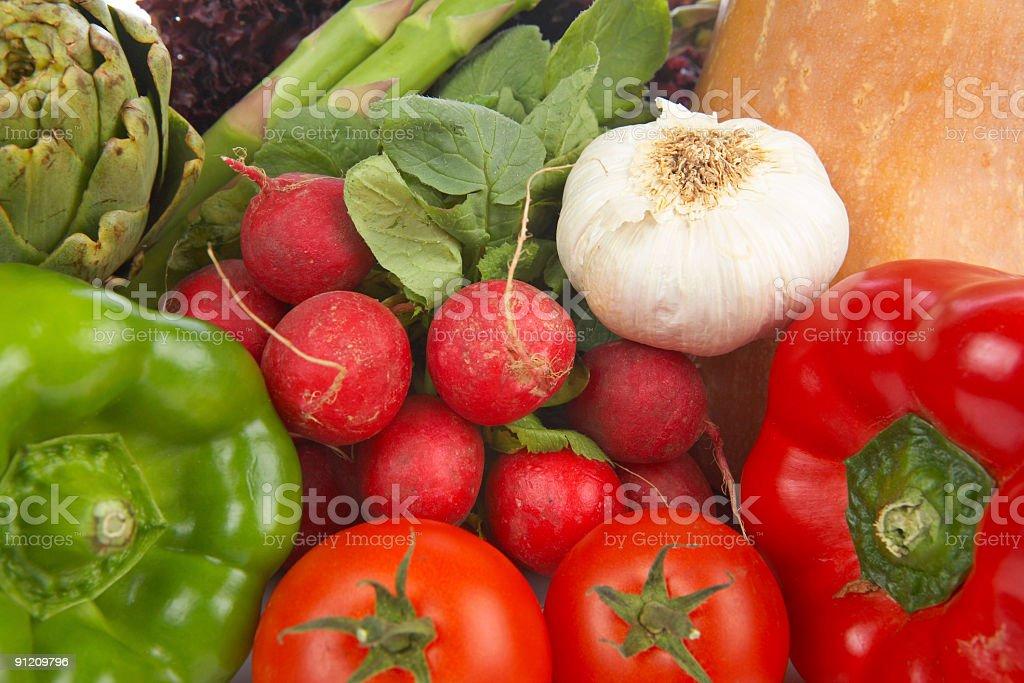 Fresh vegetables background royalty-free stock photo