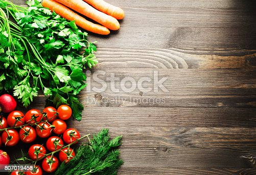 507328769 istock photo Fresh vegetables. Colorful vegetables background. Healthy vegetable . Assortment of fresh vegetables close up.Healthy food 807019458