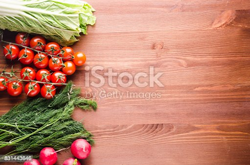 507328769 istock photo Fresh vegetables. Colorful vegetables background. Healthy vegetable . Assortment of fresh vegetables close up.Healthy food 831443646