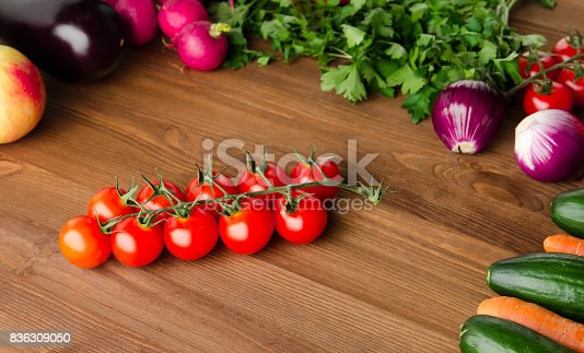 507328769 istock photo Fresh vegetables. Colorful vegetables background. Healthy vegetable . Assortment of fresh vegetables close up.Healthy food 836309050