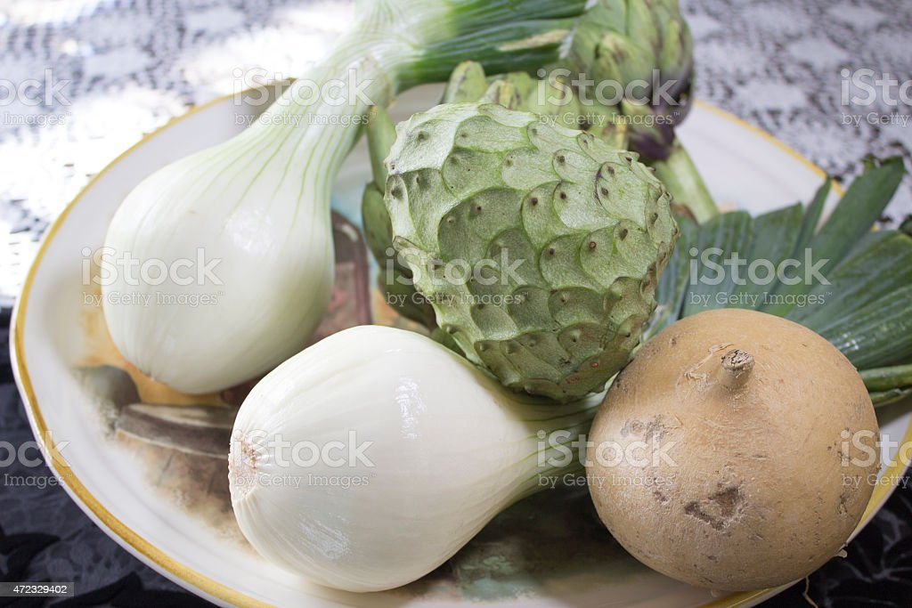 Fresh Vegetables for Cooking stock photo