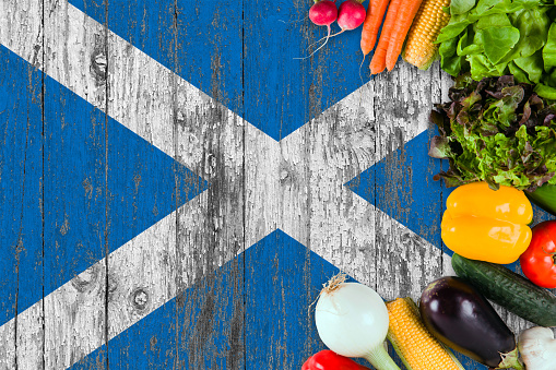 scottish food and drink stock photos
