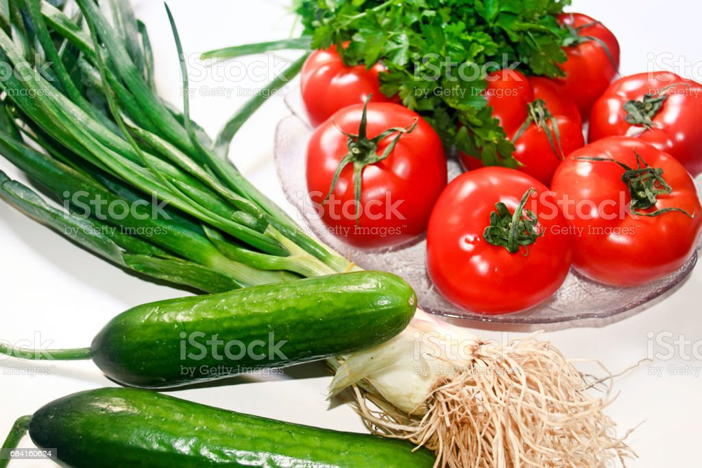 fresh vegetables - healthy diet concept royalty-free stock photo