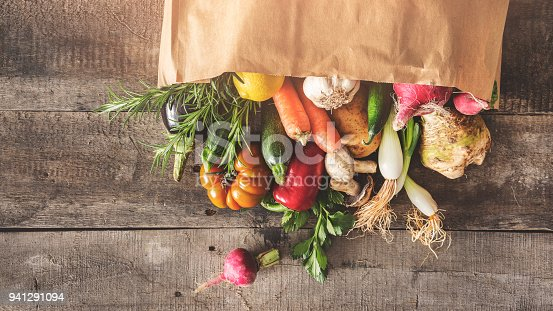 istock Fresh vegetables healthy food concept 941291094