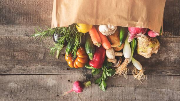 新鮮蔬菜健康食品概念 - 有機食品 個照片及圖片檔