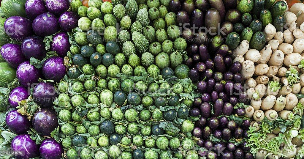 Fresh vegetables in Bangladesh stock photo