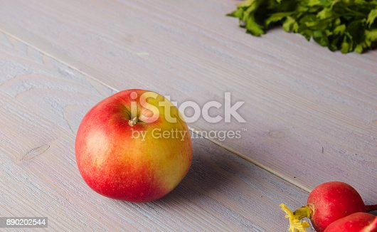 507328769 istock photo fresh vegetables on a wooden background 890202544
