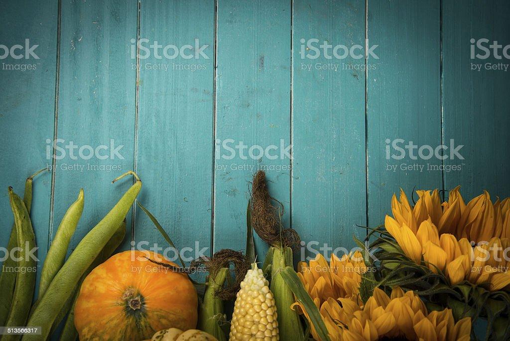 fresh vegetables on table stock photo