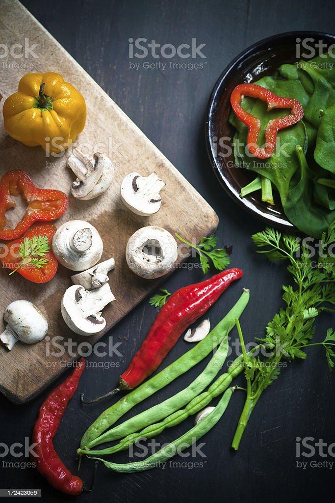 Fresh Vegetables royalty-free stock photo