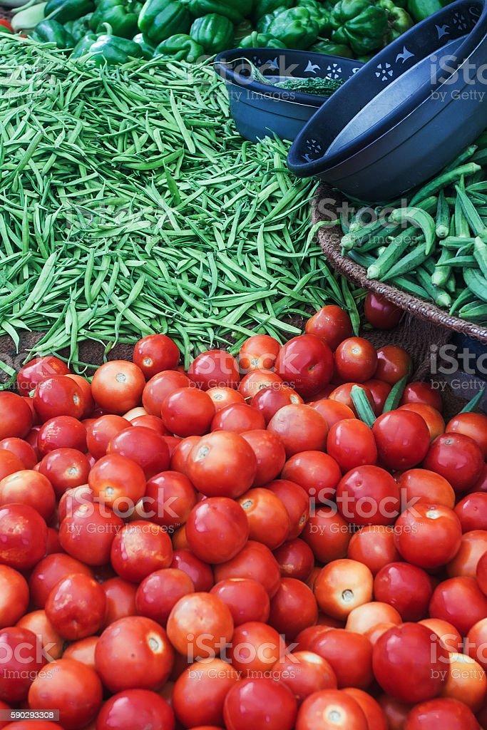 Свежие овощи  Стоковые фото Стоковая фотография