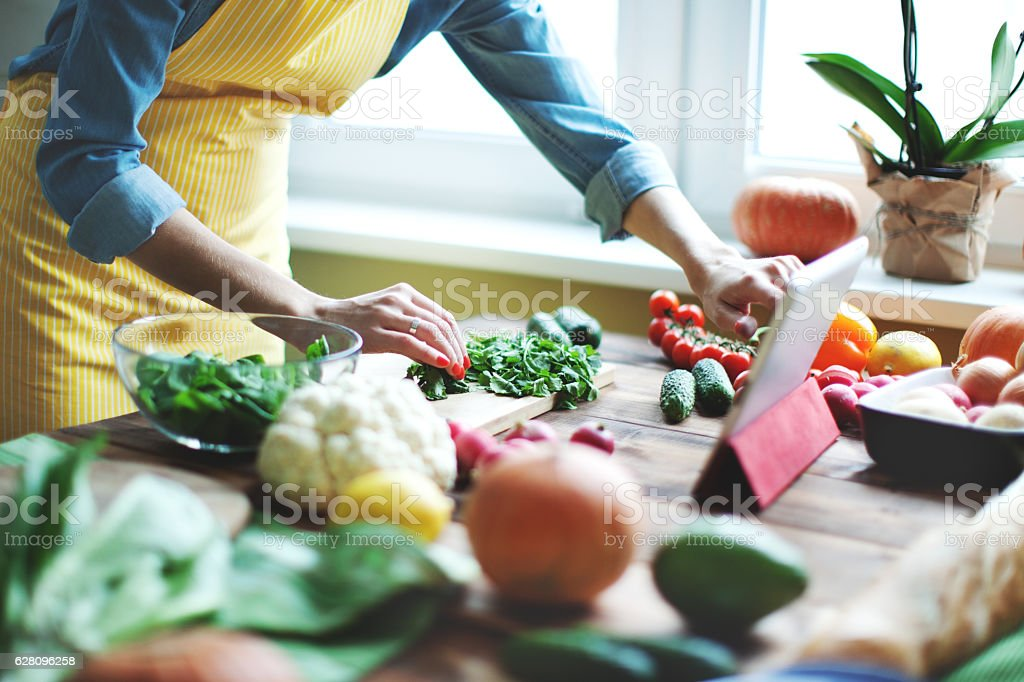 Fresh vegetables - Royalty-free Adult Stock Photo