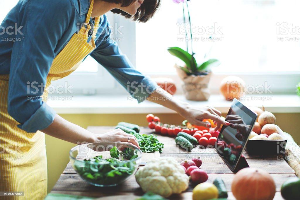Fresh vegetables stok fotoğrafı