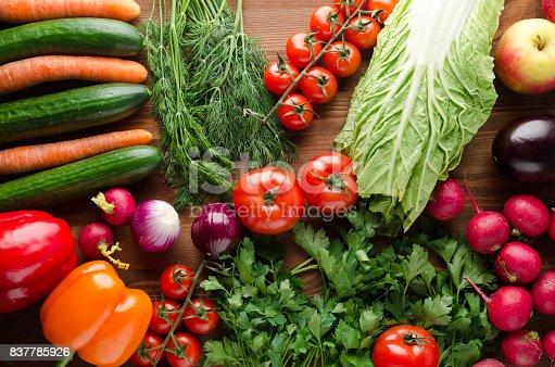 507328769 istock photo Fresh vegetables 837785926