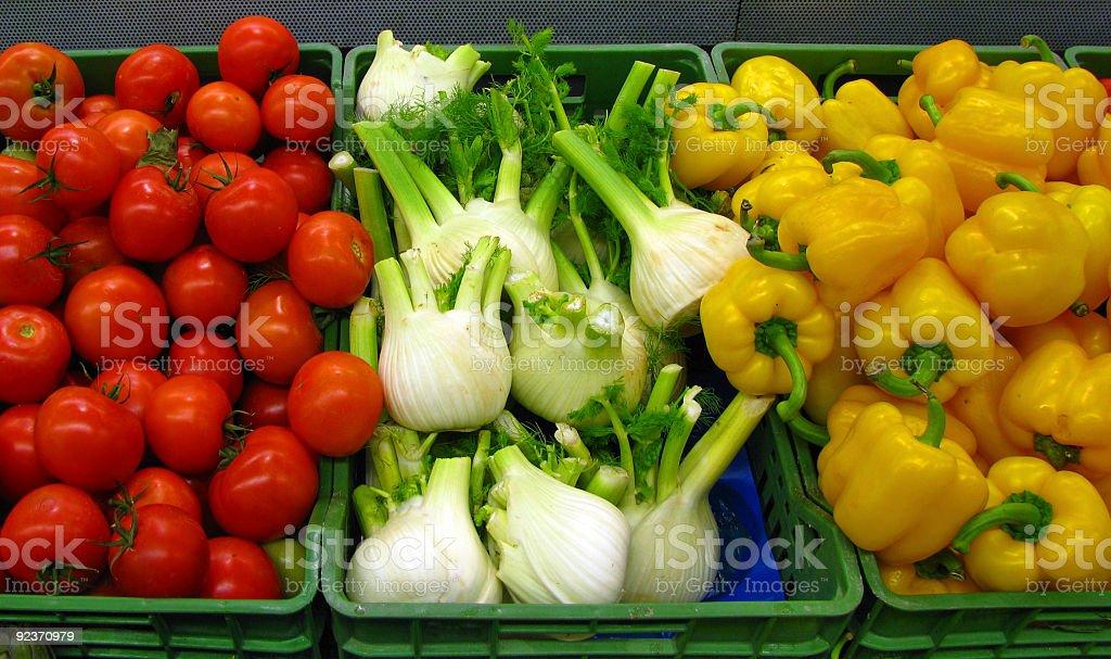 Frisches Gemüse Lizenzfreies stock-foto