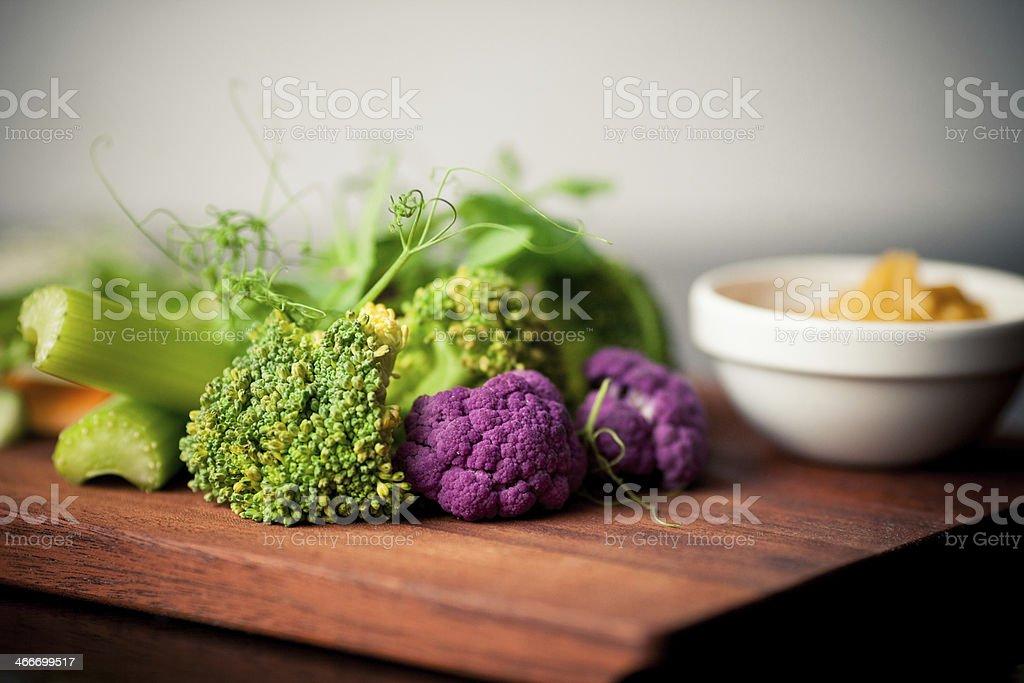 Fresh vegetables selection stock photo