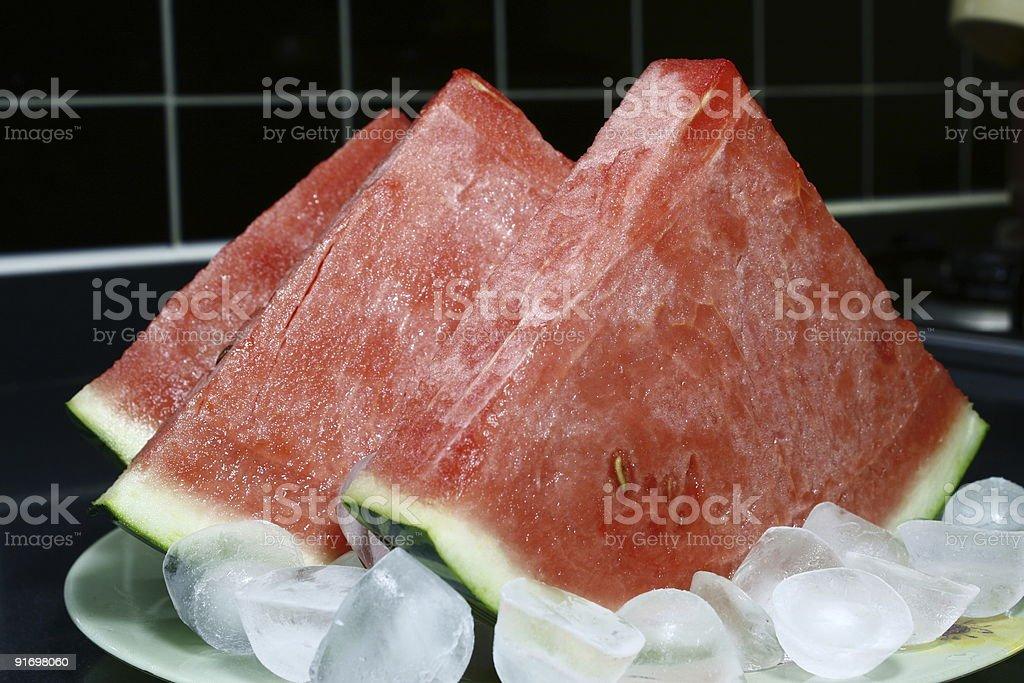 Fresh Watermelon royalty-free stock photo