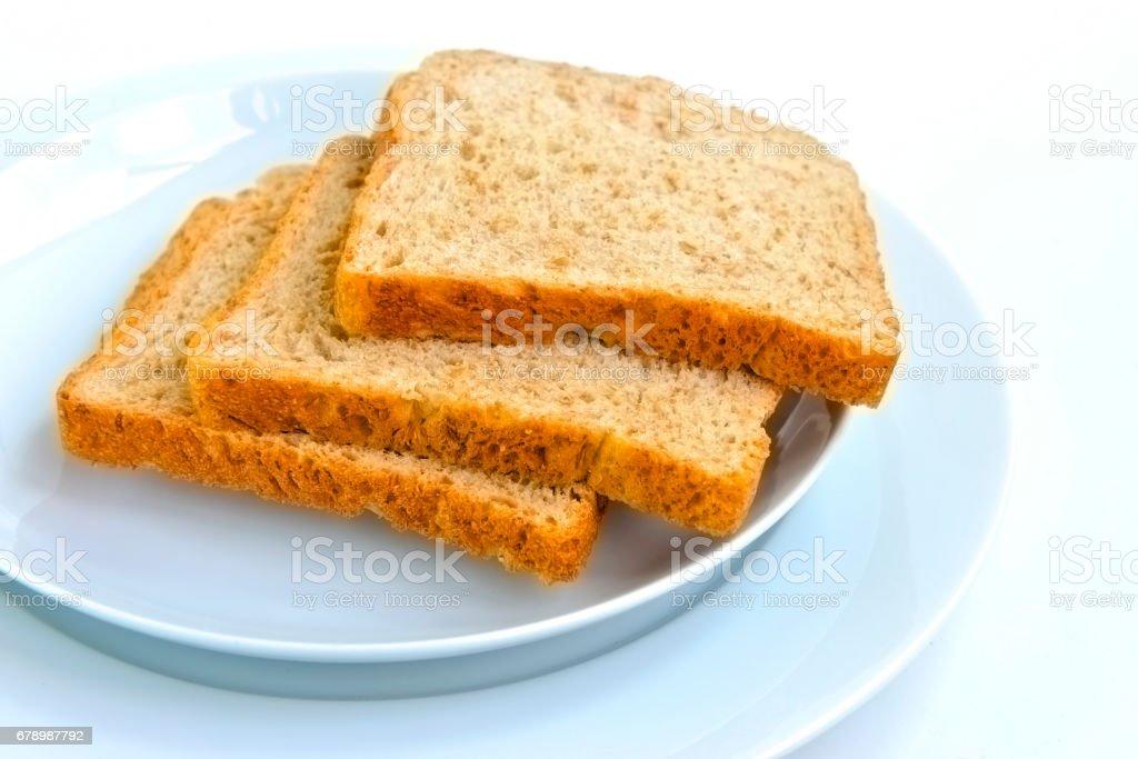 Fresh wholemeal bread photo libre de droits