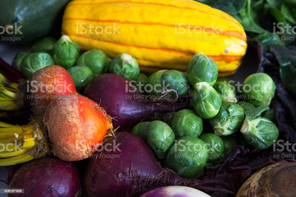 Fresh Winter Veggies stock photo