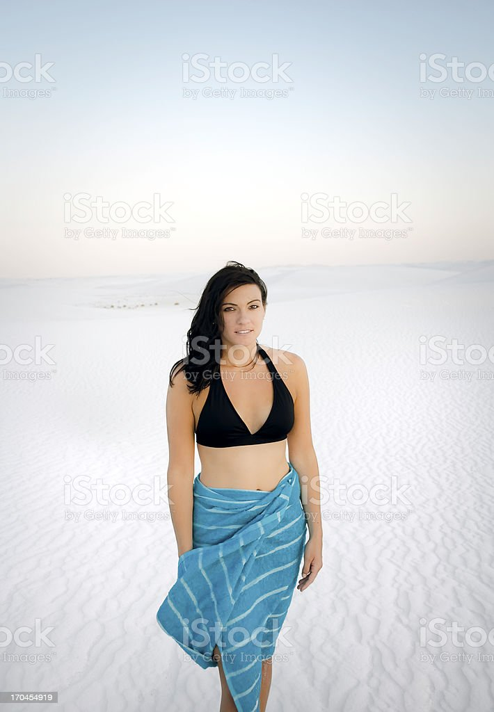 Fresh woman royalty-free stock photo