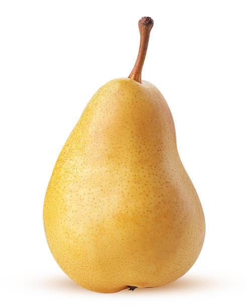 fresh yellow pears - pera foto e immagini stock