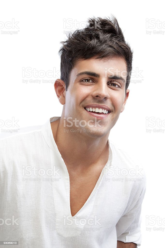 Fresh young man royalty-free stock photo