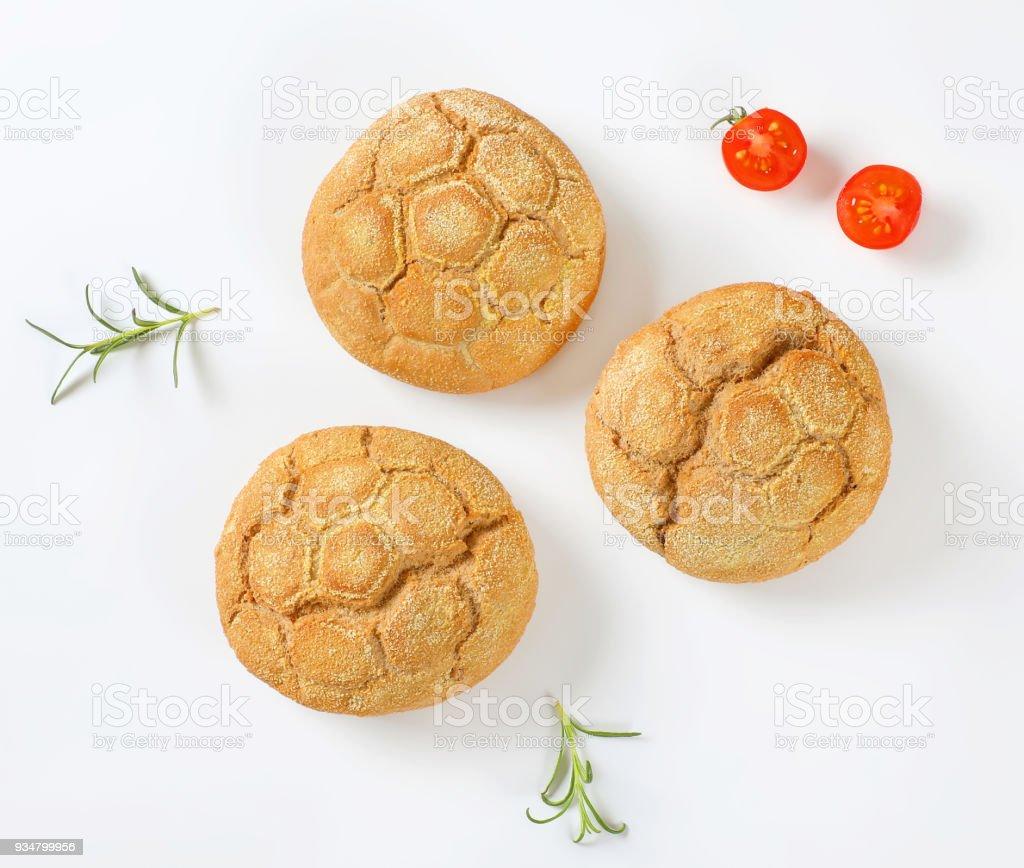 갓 구운 buns - 로열티 프리 0명 스톡 사진