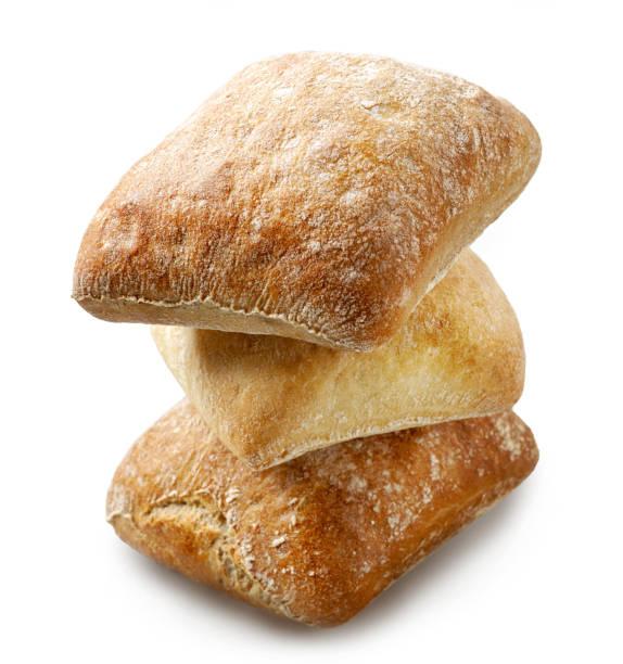 갓 구운 ciabatta 빵 빵 - 치아바타 빵 뉴스 사진 이미지