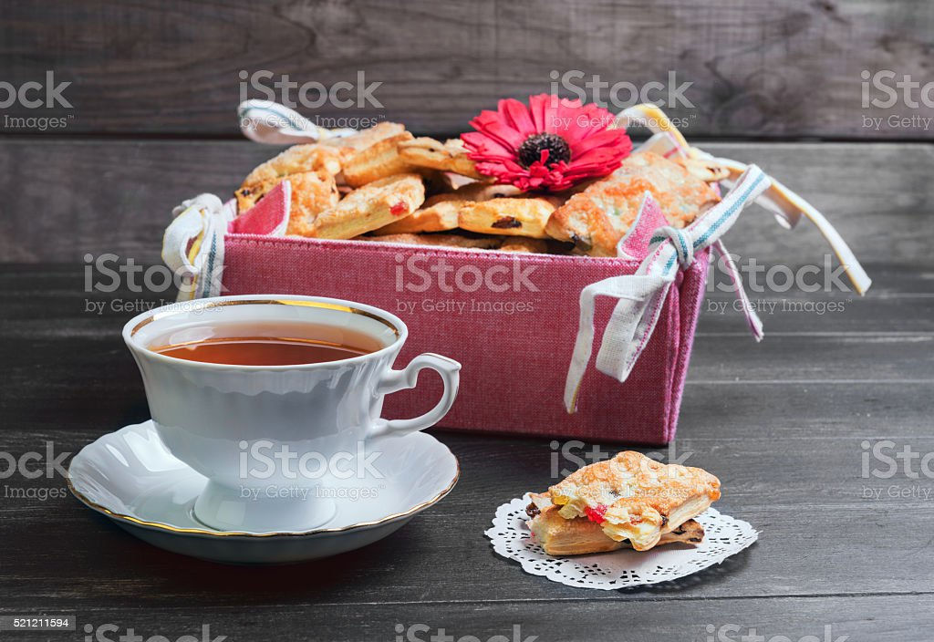 freshly baked cookies stock photo