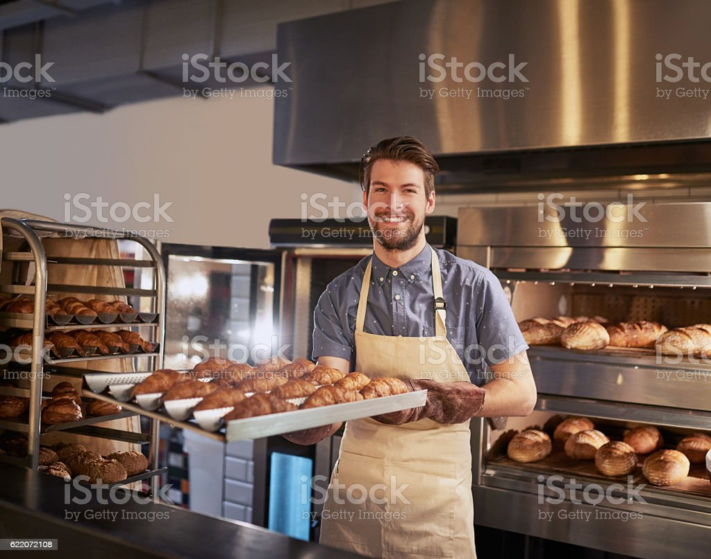 Freshly baked, just for you - foto de stock