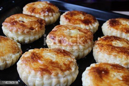 istock Freshly Baked Mattentaarten from Belgium 1182292518