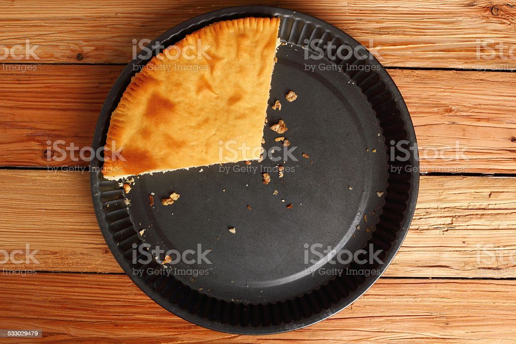Freshly Baked Meat Pie stock photo