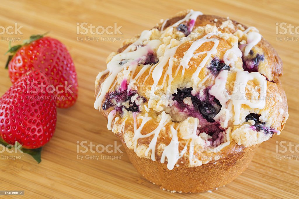 Freshly Baked Muffin royalty-free stock photo