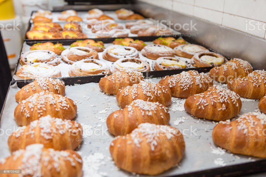 Freshly baked pastry photo libre de droits