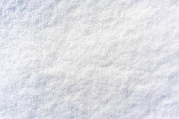 superficie de nieve suave recién caída - nieve fotografías e imágenes de stock