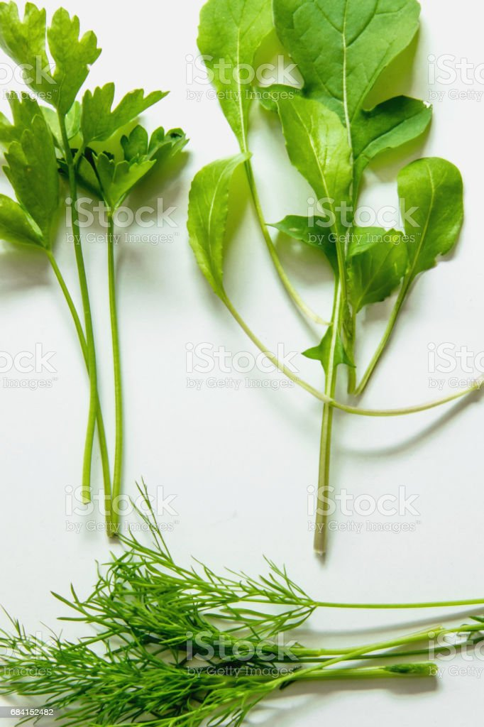 Freshly herbs foto stock royalty-free