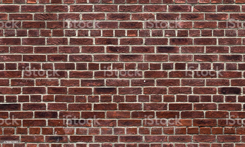 freshly laid red brick wall stock photo istock
