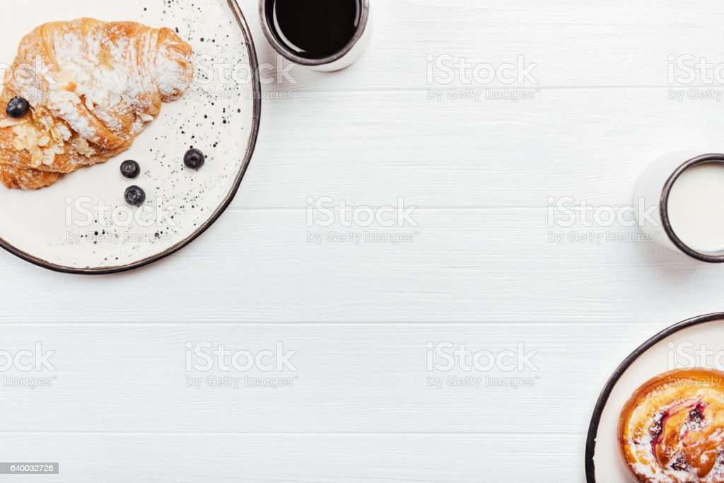 Freshly made pastry arranged on the table - Photo